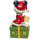 Back - Santa Minnie Hot Chocolate Figure