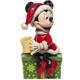 Left - Santa Minnie Hot Chocolate Figure
