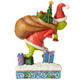 Back - Grinch Tip Toeing With Bag