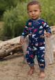 True North Baby Pajamas in motion