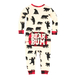 Black Bear Pajamas Rear