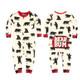 Black Bear Romper PJs for Baby