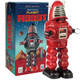 Planet Robot Wind-Up Tin Toy