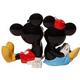 Back - Mickey and Minnie Salt Pepper Set