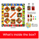 Friends Card Scramble Board Contents View