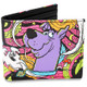 Scooby-Doo Psychedelic Bifold Wallet Front View