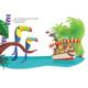 Disney-Jungle Cruise Little Golden Book- open page