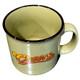Top View - Cheers Ceramic Camper Mug