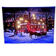 All Is Serene Lighted Canvas - Lights on