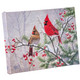 Cardinals on Snowy Branch Lighted Canvas - Front view