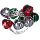 Silver jingle bell ring