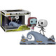 Pop! Movie Moment: Nightmare Before Christmas Jack and Sally on the Hill Funko Vinyl Figure 32834 Boxed and Unboxed View