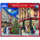 Christmas Carolers 1000pc Puzzle by White Mountain Packaged View