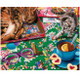 Puzzle Cats 1000pc Puzzle by White Mountain