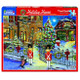 Holiday House 1000pc Puzzle by White Mountain - Box View