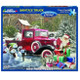 Santa's Ford Truck 1000pc Puzzle by White Mountain - Box View