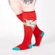 Retro Pegasus Women's Knee High Socks by Sock It To Me Side View