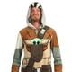 Star Wars The Mandalorian Men's Union Suit Model View