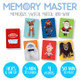 Rudolph The Red-Nosed Reindeer Memory Master Card Game Contents View