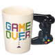 Gaming Controller Shaped Handle Mug