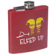 Festive Holiday Stainless Steel Flasks - Elfed Up