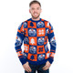Edmonton Oilers Ugly Christmas Sweater NHL 2016 Front