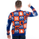 Edmonton Oilers Ugly Christmas Sweater NHL 2016 Rear