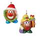 Mr. & Mrs. Potato Head Christmas Ornaments