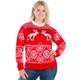 Pooping moose ugly sweater  4
