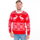Pooping moose ugly sweater  3
