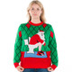 Crapper Claus Naughty Sweater on Her
