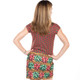 Women's Bow-tiful Ugly Christmas Sweater Dress Faux Real - Back