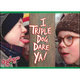 Triple Dog Dare Flat Magnet