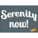 Seinfeld Serenity Now Flat Magnet