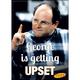 Seinfeld George Upset Flat Magnet