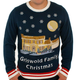 Christmas Vacation Lighted Griswold House Sweater Mens