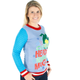 Women's Elf the Movie Cotton Headed Ninny Muggins Sweater (Side View)