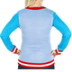 Women's Elf the Movie Cotton Headed Ninny Muggins Sweater (Back View)