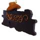 Cowboys Rock Ornament (back)