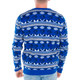 Men's Toronto Blue Jays Ugly Sweater  2017 Back