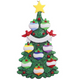 Eight - Green Christmas Tree Personalized