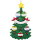 Five - Green Christmas Tree Personalized
