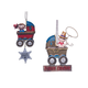 Future Cowgirl/Cowboy Ornaments