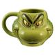 Dr. Seuss Grinch Sculpted 18oz Ceramic Mug