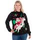 Santa Unicorn Sweater - women front