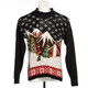 Ski Lodge Vintage Christmas Sweater