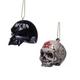 Sons of Anarchy SAMCRO Helmet & Skull Ornaments