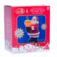 Retro Bubble Lamp Vintage Santa