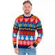 North Pole Mashup Ugly Christmas Sweater Man