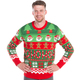 Santa's Workshop Cheesy Christmas Sweater Men's